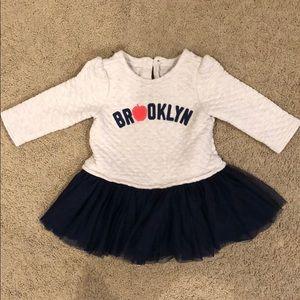 Baby Gap // 18-24 months tutu quilted dress